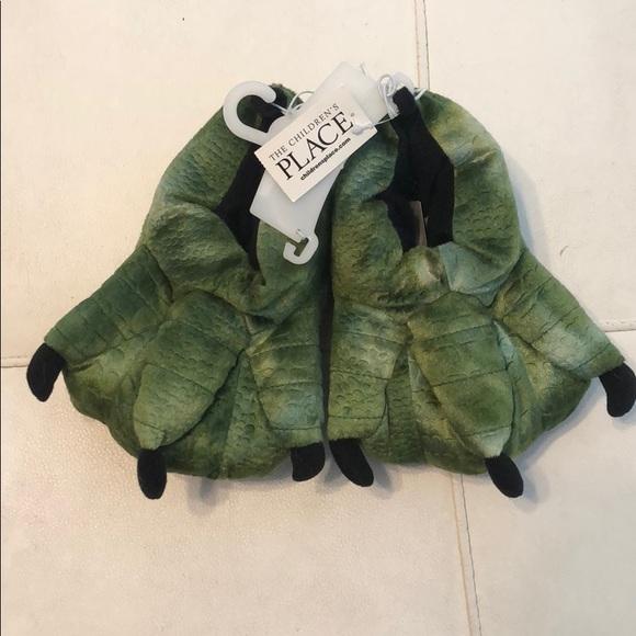 096ca4556f31 Little Kid Dinosaur slippers